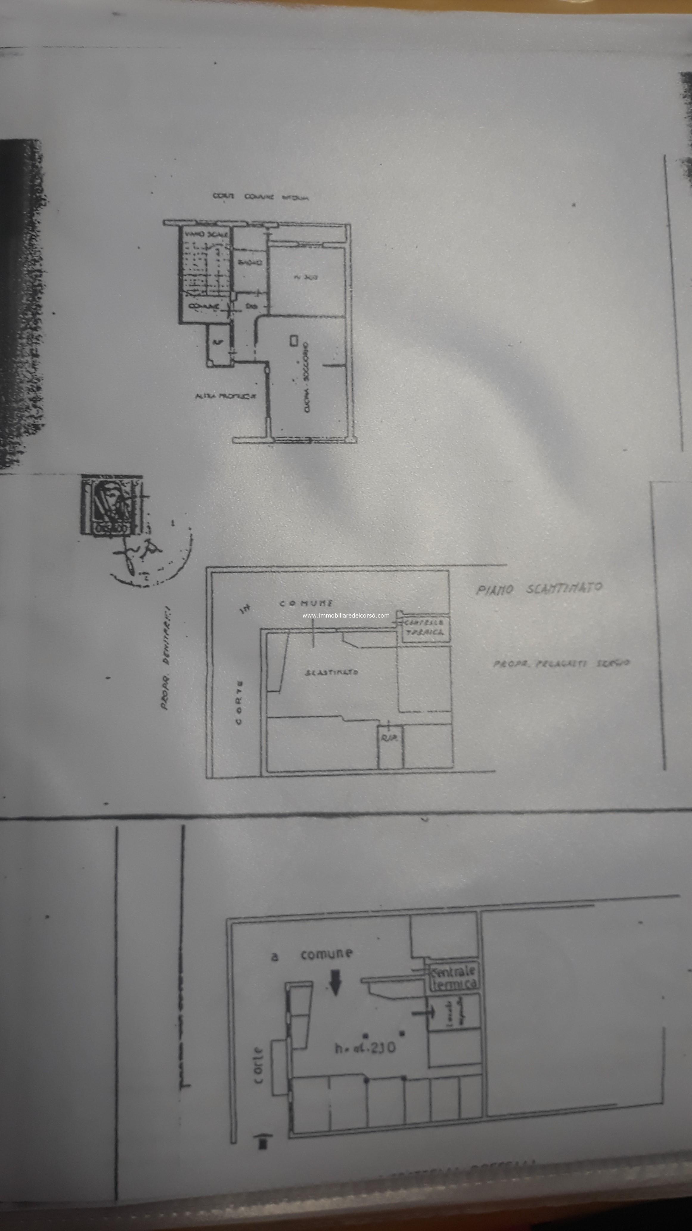 Planimetria terzo piano casa